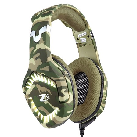 ZOOOK ZG-Rambo Professional Gaming Headset - Camouflage