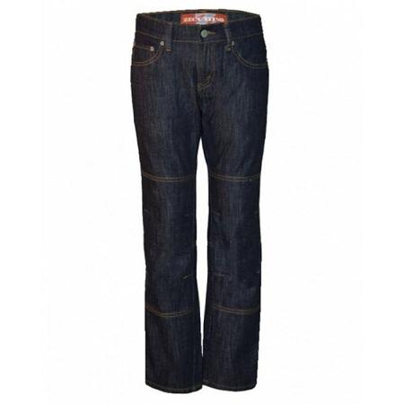 Zecchino Black Straight Fit Pannel Denim Jeans