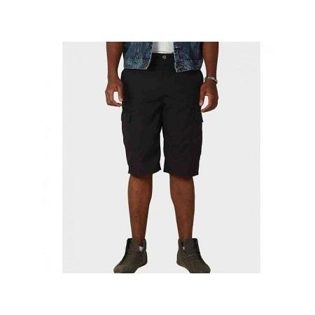 Zecchino Black Summer Bermuda Boys Cargo Shorts