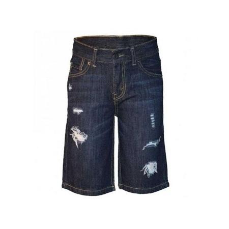 Zecchino Midnight Blue Hemmed Boys Shorts