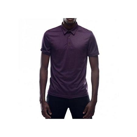 Zecchino Mulberry Short Sleeved Men Plain Polo T-shirts