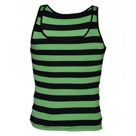 Zecchino Green / Black Striped Men's Vest