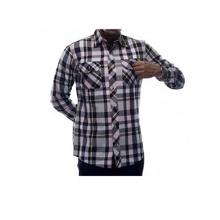 Zecchino Multicolored Checked Men's Shirts