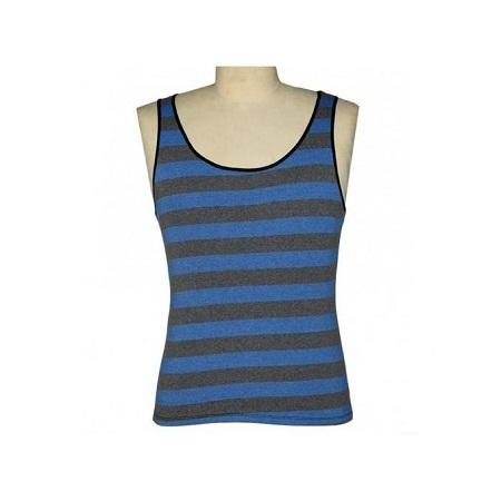 Zecchino Blue/Grey Striped Men's Vest