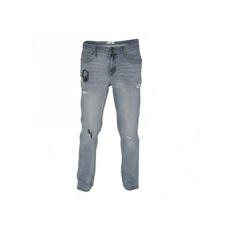 Zecchino Light Blue Destroyed Boy's Pants