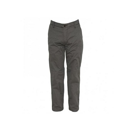 Zecchino Ash Grey Mens Straight Fit Dress Pants