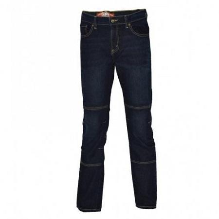 Zecchino Dark Blue Mens Pannel Denim Pants