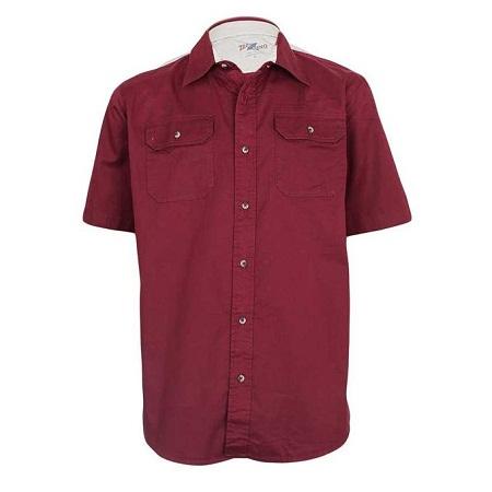Zecchino Biking Red Short Sleeved Men's Shirts