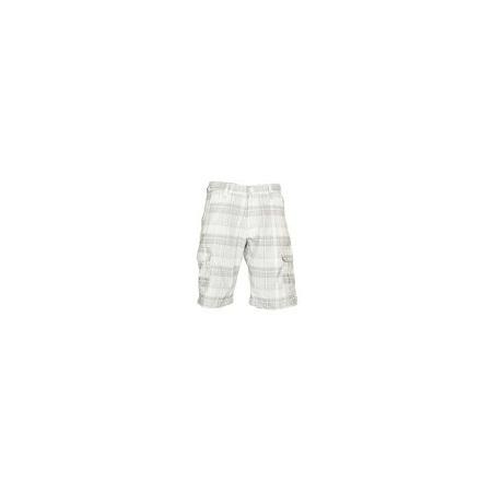 Zecchino White Checked Men's Stylish Shorts