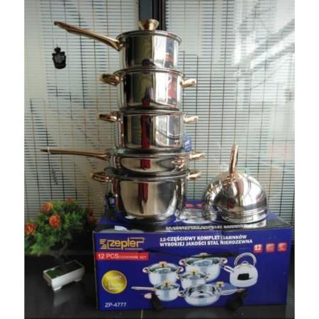 Zepter 12 Piece Aluminium Zepter Cooking Pots