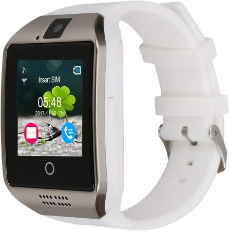 Bluetooth Smart Watch with Camera Support SIM Card & TF Card Pedometer Fitness Tracker Watch for Android & iOS