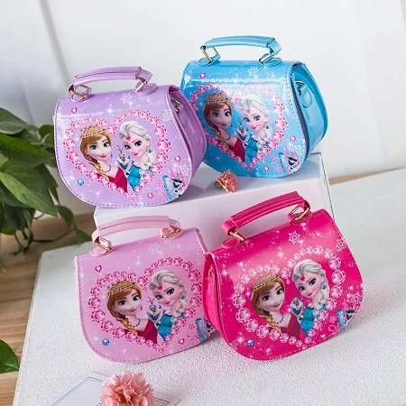 Frozen Cute Cartoon Children Elsa Anna Princess Children's Messenger Bag