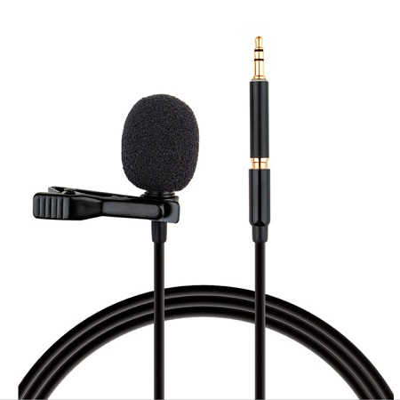 Lavalier Microphone Omnidirectional Condenser Mic for Apple Android & Windows Smartphones,Youtube,Interview