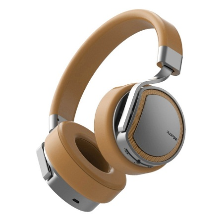 PLEXTONE BT270 BT Earphone with 8GB MP3 Player Headset Over-ear Wireless Handsfree Headphones Gold