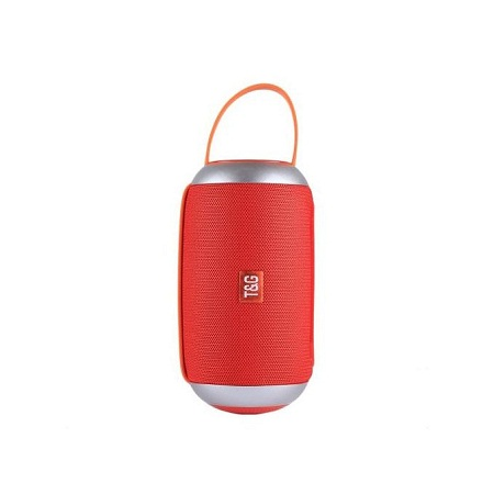 Portable Bluetooth Speaker with Loud Stereo (red)