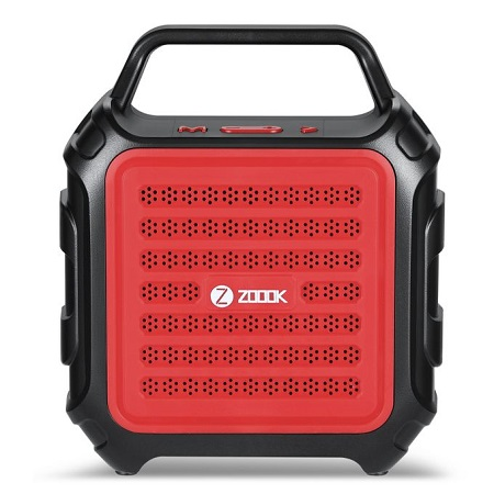 ZOOOK ZB-Rocker Thunder X - Bluetooth Speaker - 8W - Red