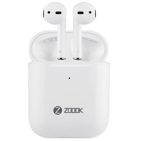 ZOOOK ZB-TrueBeats 2.0 - Wireless Stereo Earpods - White