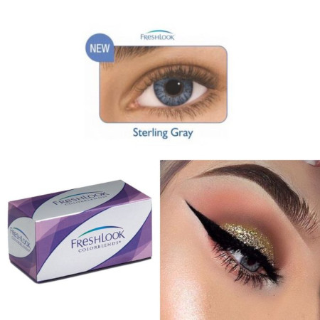 FreshLook Beauty Contact Lenses Sterling Gray