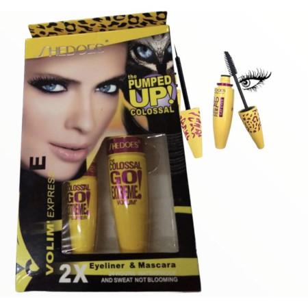 SheDoes 2in1 Colossal Mascara Eyeliner