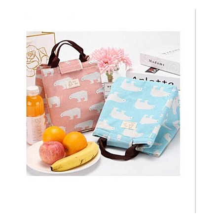 Lunch Bag for Women Tote canvas lunch bag Insulation Package Portable - Assorted color