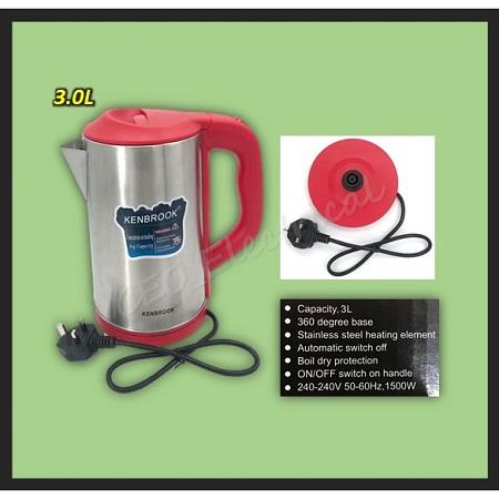 Electric kettle-Kenbrook