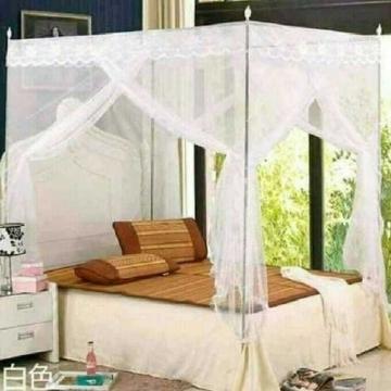 Mosquito Net With Metallic Stand- White