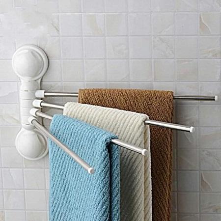 4 Rack Towel Bar