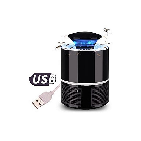 Mosquito Killer Insect USB Electronic Bedroom Lamp-Black