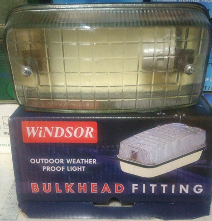 Windsor BulkHead Fitting Light