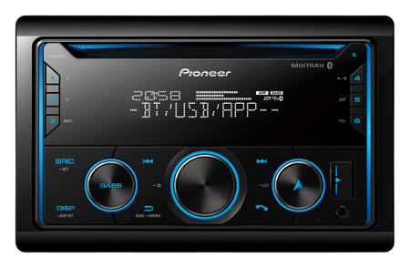 Pioneer FH-S525BT Car Audio Receiver.