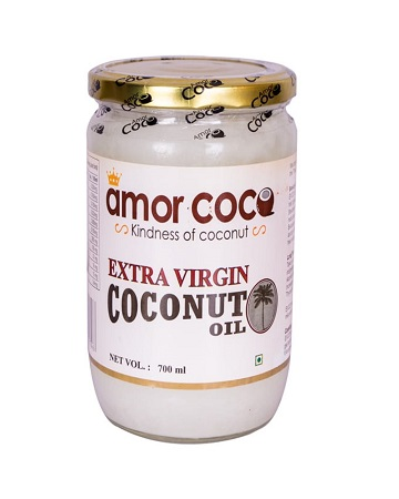 Amor Coco Extra Virgin Coconut Oil- 700 ml