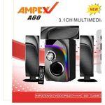 Ampex 3.1 12000W Subwoofer Ch Speaker BLTH/USB/SD/FM