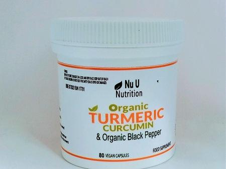 TURMERIC CURCUMIN WITH ORGANIC BLACK PEPPER