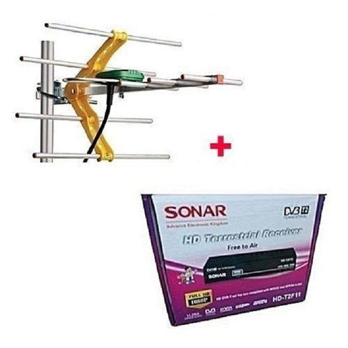 Sonar Free To Air Digital Decoder + FREE Digital Aerial