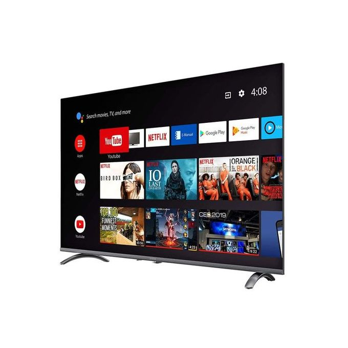 """Vision 50"""" 4K ULTRA HD ANDROID TV, NETFLIX, YOUTUBE, FRAMELESS VP-8850K – Black"""