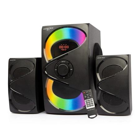 Golden Tech A1-1, 2.1 CH/10000 WATTS/BLUETOOTH/FM RADIO/USB/SD/AC.DC