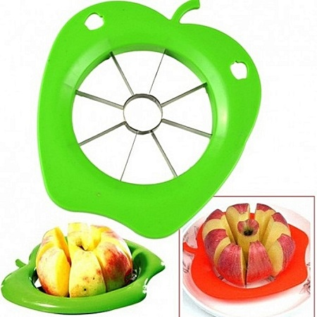 Apple Cutter & Corer - Green