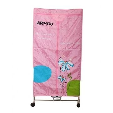 ARMCO ACD-011MT Multipurpose Clothes Dryer + Steel Frame ,Dryer - Pink