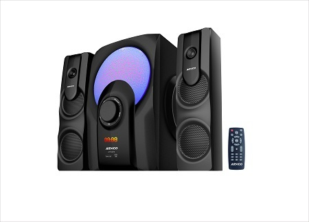 ARMCO AHT-8075 - 2.1 Ch - 5000W - SubWoofer - Bluetooth - Black