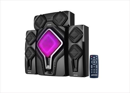 ARMCO AHT-8090 - 3.1 Ch - 6000W - Sub Woofer - Bluetooth - Black