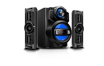 ARMCO AHT-ZX30A - 2.1 Ch - 4000W - SubWoofer - Bluetooth - Black
