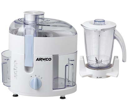 Armco AJB-400CG, 2 in 1, Juice Extractor & Blender, 350W - White & Blue