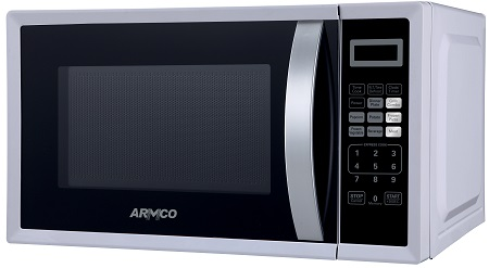 ARMCO AM-DG2043(WW) - Microwave Oven + Grill - 20L - 1000W - White & Black