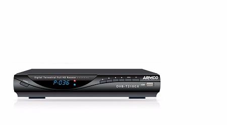 ARMCO DVB-T2 Set Top Box DVB-T210CX