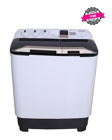 TOSHIBA VH-J110WGH - 10 Kg - Top Load - Twin Tub Washing Machine