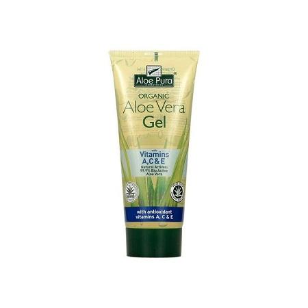 Aloe Pura 99.9% Bio Active Aloe Vera Gel with Vitamins A,C & E-200ml