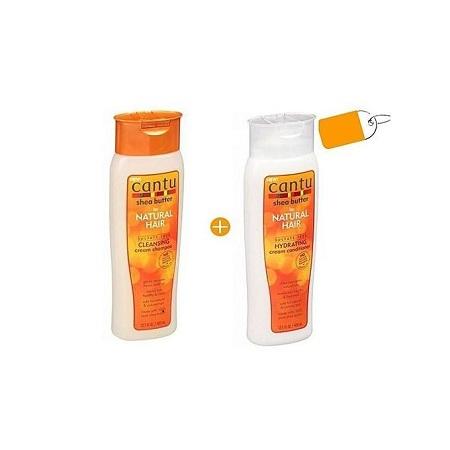 Cantu Cleansing Cream Shampoo & Hydrating Cream Conditioner