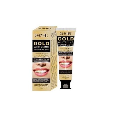 Dr. Rashel Gold Whitening Toothpaste Dental Cream,120g