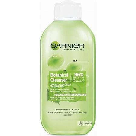 Garnier Botanical Cleanser Refreshing Milk,green Grape Extract-200ml