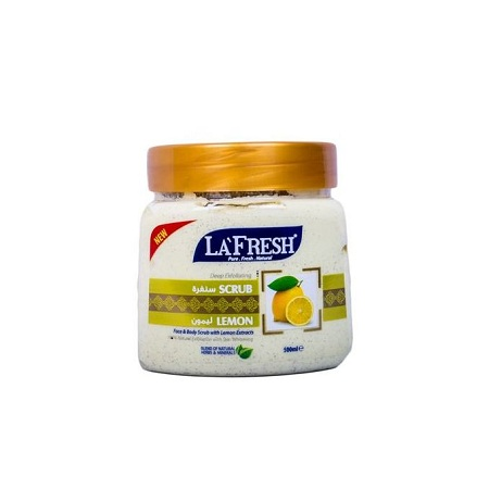 La Fresh Exfoliating Natural Scrub - Lemon - 500 ml